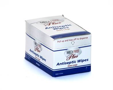 Antiseptic Wipes - XL 20 / box
