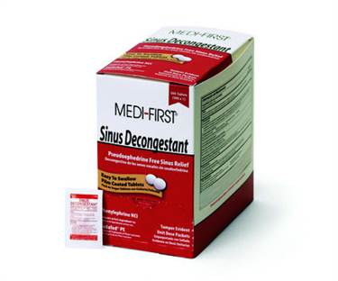 Sinus Decongestant - 100/box