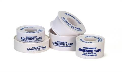 "Latex-Free Adhesive Tape - 1/2"" x 5 yards"