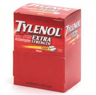 Tylenol Extra Strength - 100/box